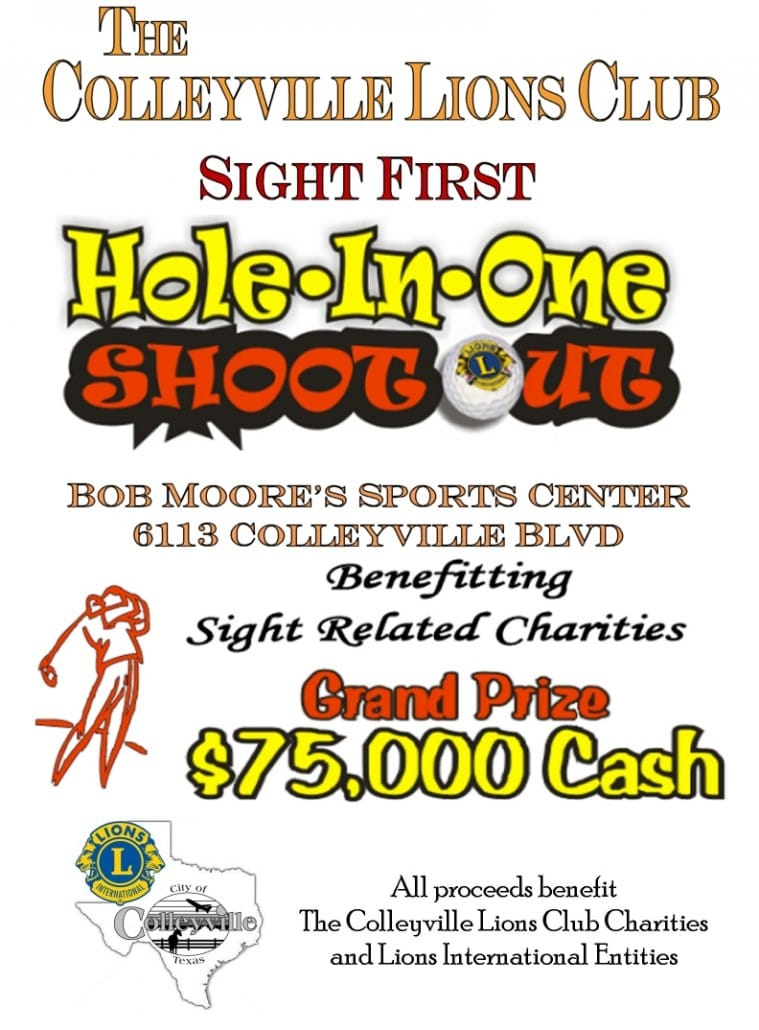 SEPTEMBER: Colleyville Lions Hole in One Shoot Out