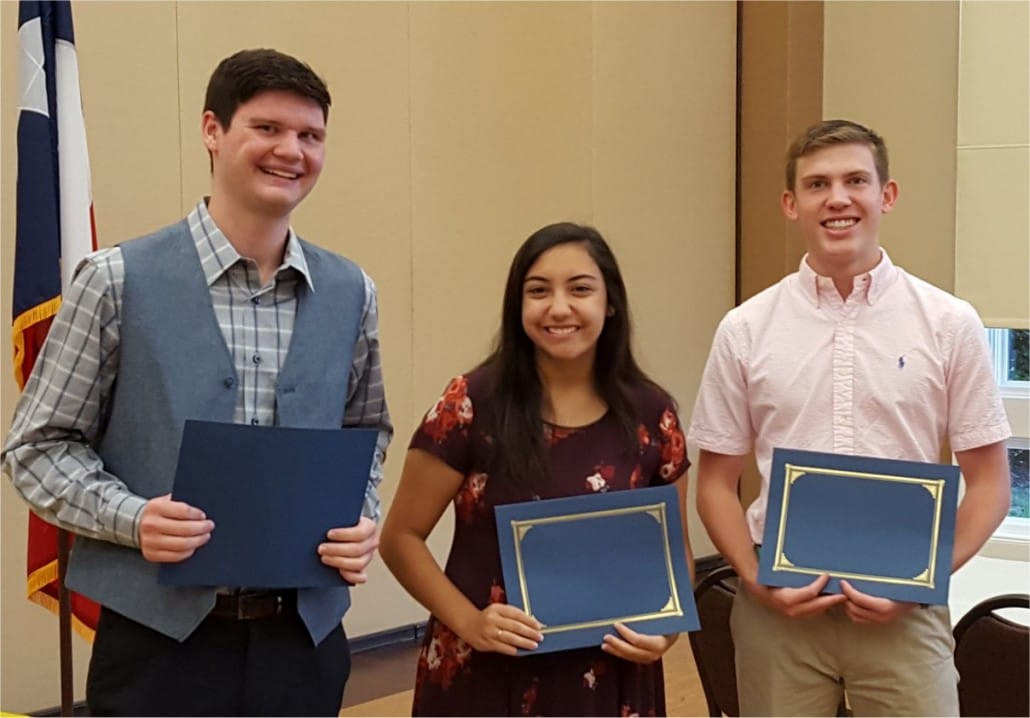 2016 Scholarship Winners sm