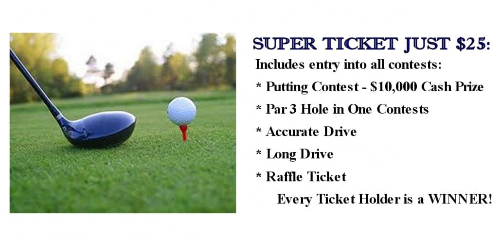 Golf Tournament Super Ticket